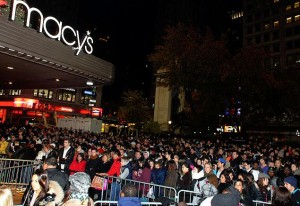 Two words about Black Friday starting at 8pm Thanksgiving evening: STAY AWAY! Photo 2013 h/t NY Daily News