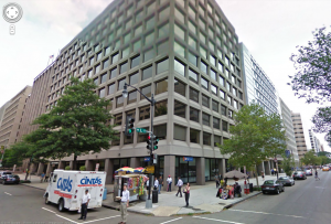 My first job was located on the corner of 15th and L Streets in Northwest D.C.--across the street from The Washington Post.